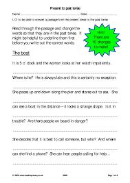 eyfs ks1 ks2 verb tenses teachit primary