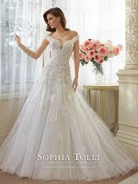 wedding dresses at 26 best shoulder bridal dresses everafterguide