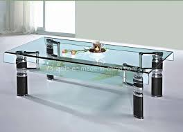 Coffee Table Wood And Glass Table For Living Room Glass Livingroom Exquisite Glass Table