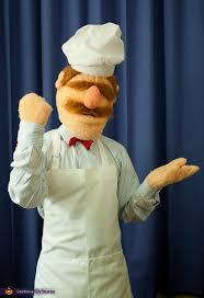 Chef Halloween Costumes Muppets Fame Swedish Chef Costume Photo 4 5