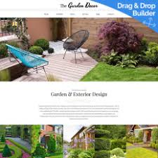 garden design bootstrap themes templatemonster