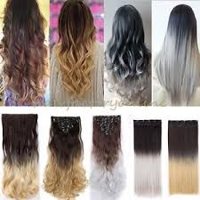 ombre hair extensions uk uk ombre dip dye 8 pcs clip in on as human hair