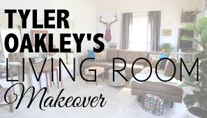 living room makeover with tyler oakley youtube