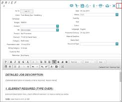 how to create a brief template how2chase production confluence