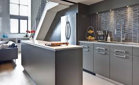 gloss kitchens ideas cabinet stunning grey gloss kitchen ideas with black appliances