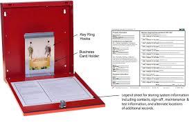 fire alarm document cabinet space age electronics fdb fire alarm documents box