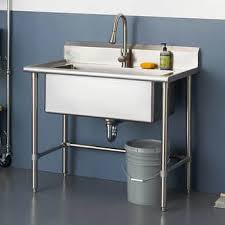 small kitchen sink and cabinet combo 32 x 16 stainless steel utility sink