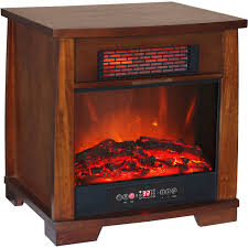Small Bedroom Gas Heaters Heat Wave Infrared Quartz Heater With Flame Effect Walmart Com