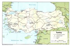 country maps turkey country map turkey mappery