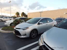 toyota homepage 2017 used toyota corolla le cvt automatic at royal palm toyota
