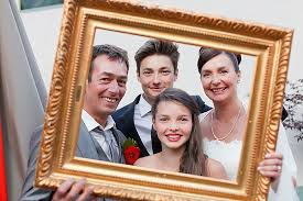 Wedding Photo Booth Ideas Family Wedding In Chamonix