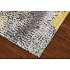 3 x 5 small yellow u0026 gray area rug modern grays rc willey