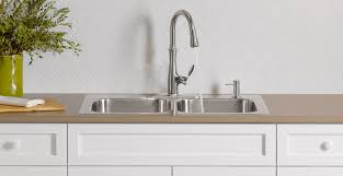 dual mount kitchen sink eventide kitchen sinks kitchen new products kitchen kohler