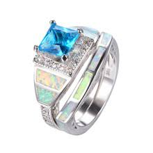 opal wedding ring sets opal wedding rings shopping the world largest