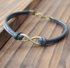 infinity bracelet leather images Bronze infinity bracelet friendship bracelet wholesale quality jpg