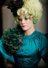 Hunger Games Halloween Costumes Hunger Games U2013 Effie Trinket Makeup Effie Trinket Hunger Games