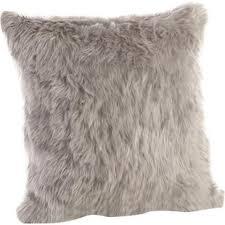 max studio home decorative pillow faux fur pillows you ll love wayfair