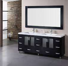 black bathroom vanity with sinks 6791