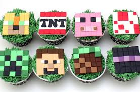 minecraft cupcake ideas minecraft cupcakes