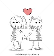gallery cute sketches of couples holding hands drawing art gallery