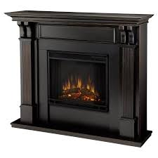 Indoor Electric Fireplace Real Indoor Electric Fireplace Black Wash Walmart