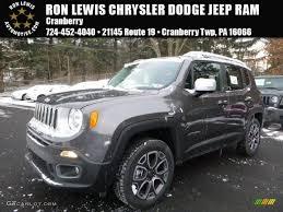 granite jeep renegade 2016 granite crystal metallic jeep renegade limited 4x4 110754622