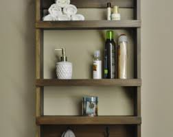 bathroom shelf etsy