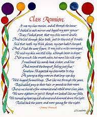 gifts for class reunions elizabeth lucas designs class reunion large gift card