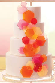 best 25 red hexagon shaped wedding cakes ideas on pinterest red