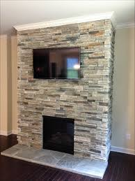 outdoor stacked stone orange county outdoor fireplace pictures