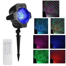 magic laser christmas lights waterproof christmas laser light colorful leaves magic dot projector