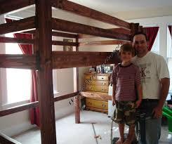 Build A Loft Bed With Desk Inspiring Children Loft Bed Plans Top Design Ideas 9772