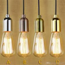brass kitchen lights discount 110v 220v retro edison bulb holder e27 socket antique