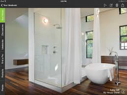 houzz bathroom design bathrooms trends fewer tubs more walls around toilets