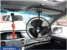 plug in car fan sale 18cm auto car travel fan automobile oscillating fan