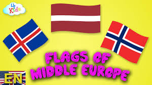 Flags Of Countries In Europe Flags And Countries Of Europe Central Europe Learning For