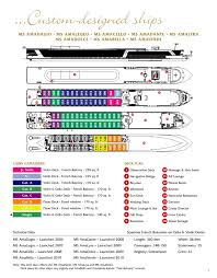 cruise ship floor plans ama european danube river cruises by amadeus waterways by cie tours