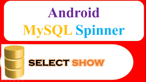 android httpurlconnection android mysql database ep 09 spinner select and show