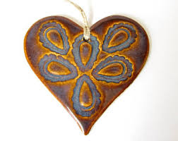 ceramic ornament etsy