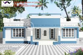1285 sq ft Single Floor Home Plan