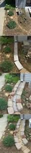 making a dry creek bed or rill drainage canal for downspouts