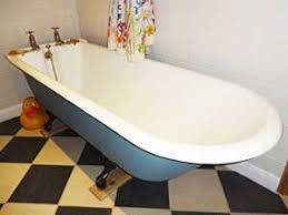 Bathtub Re Enamel Bath Resurfacing Complete Renovation Of Cast Iron And Pressed