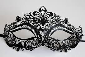 20 black laser cut venetian cat mask masquerade w