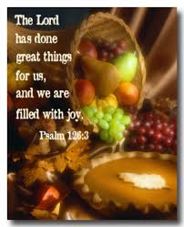 the lord has done great things for us and we are filled with