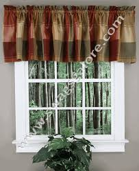 Country Curtains Coupon Codes Plaid Country Valance Burgundy United Curtain View All Valances
