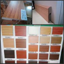 Laminate Flooring Skirting Boards China 7cm Height Angel L Mdf Wall Skirting Board For Wood Flooring