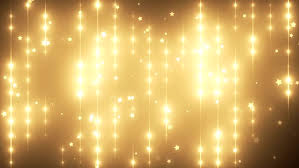 floodlights disco background with particles gold creative bright