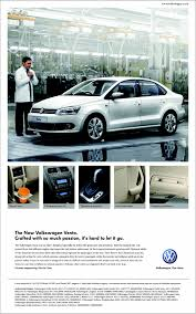 volkswagen vento colours volkswagen vento speaking newspaper ad in times of india vw audio