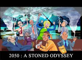 Hilarious Weed Memes - 2050 a stoned odyssey funny weed memes weedmemes marijuanamemes