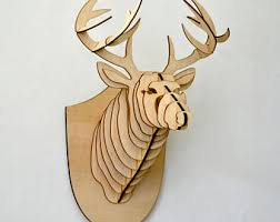 deer home decor deer head decor etsy